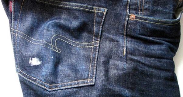Жвачка на одежде перед стиркой