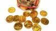 Шоколадные монетки BITCOIN 0