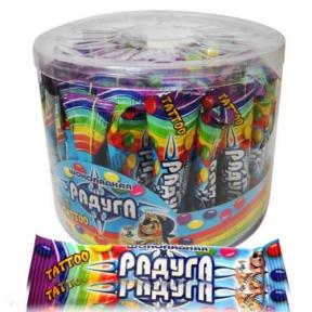 Шоколадное драже Радуга + ТАТУ 12 гр., 50 шт.