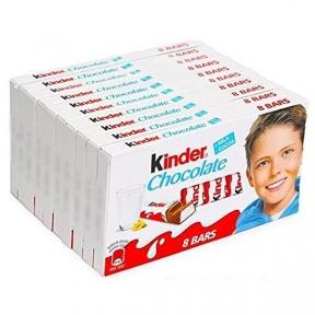 Молочный шоколад Киндер Т8