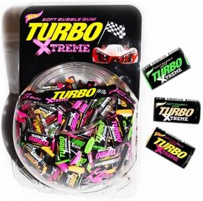 Жевательная резинка Турбо X-treme банка 4,5 гр., 300 шт.