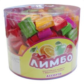 Жевательная конфета Лимбо ассорти 5 гр., 200 шт.
