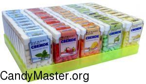 Сахарное драже Свежок 12 гр., 50 шт. (блок)