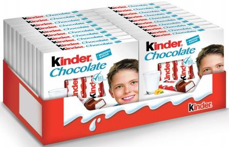 Молочный шоколад Киндер Т4