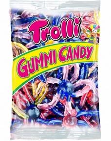 Жевательные конфеты Trolli Осьминог (пакет), 1000 гр.