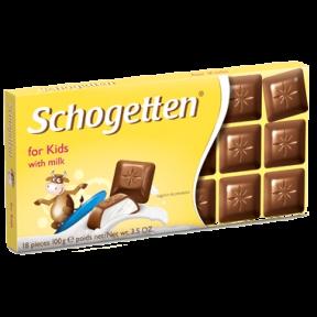 Шоколад Schogetten 100 гр. Kids