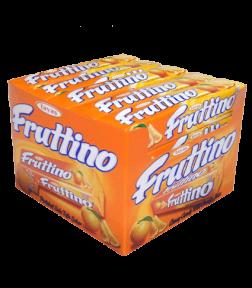 Жевательная конфета FRUTTINO апельсин 47 гр.