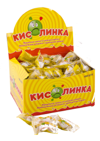 Жевательная резинка Кислинка