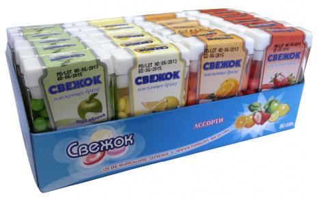 Сахарное драже Свежок 12 гр., 24 шт. (мини-блок)