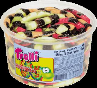 Жевательные конфеты Trolli Удав, 960 гр.