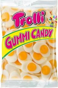 Жевательные конфеты Trolli Яичница (пакет), 1000 гр.