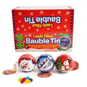 Новогодняя игрушка с мармеладом 10 гр., 24 шт.