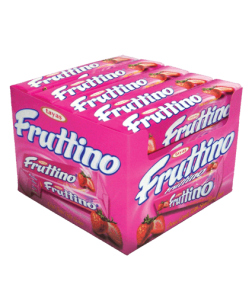 Жевательная конфета FRUTTINO клубника 47 гр.