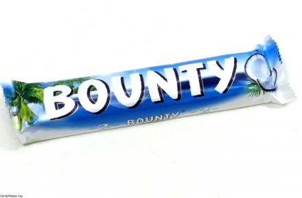 Шоколадный батончик BOUNTY, 57 гр., 24 шт.