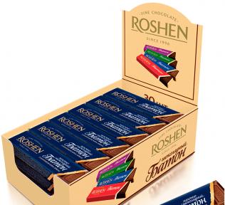 Шоколадный батончик Рошен крем-брюле