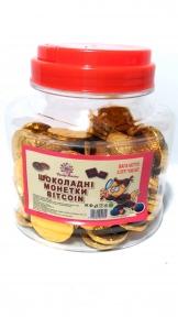 Шоколадные монетки BITCOIN