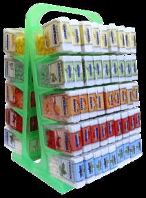Сахарное драже Свежок 12 гр., 90 шт. (горка)