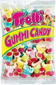 Жевательные конфеты Trolli Бык (пакет), 1000 гр.
