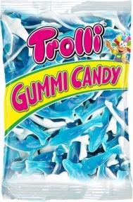 Жевательные конфеты Trolli Акула (пакет), 1000 гр.