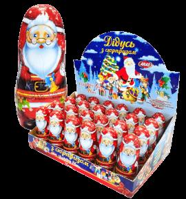 Шоколадная фигурка с игрушкой Св.Николай 30 гр. 24 шт.