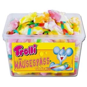 Жевательные конфеты Trolli Мышка, 1200 гр.