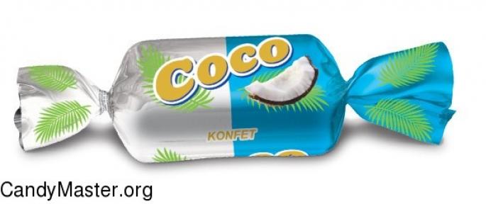 Шоколадные конфеты Tango (с кокосовой стружкой) 1000 гр.