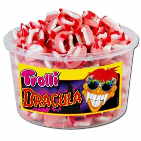 Жевательные конфеты Trolli Дракула, 1050 гр.