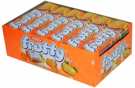 Жевательная конфета FRUTTI апельсин 25 гр.